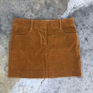 J.crew Corduroy Skirt